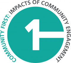 CFICE logo with full name spelled out: Community First: Impacts of Community Engagement