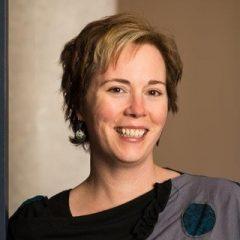 Portrait of Cathy Malcom Edwards.