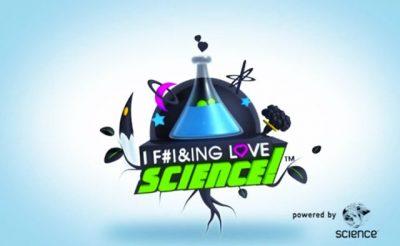 The I F**king Love Science logo.