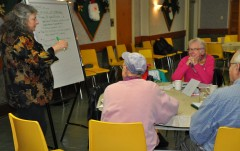 Senior citizens from Old Ottawa East meet to discuss land redevelopment. ©IHOA