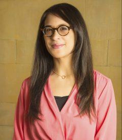 Portrait of Lynn Sutankayo, partnership coordinator at University of Alberta's (North Campus) Community Service-Learning (CSL) unit.