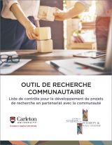 """Cover for """"Outil de Recherche Communautaire"""""""