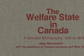 Detail of report cover entitled The Welfare State in Canada