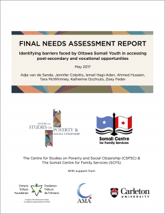 Cover of Final Report for Identifying Barriers Project