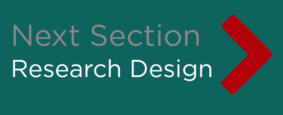 Next Section: Research Design button