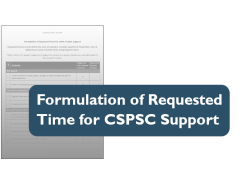 Thumbnail for Formulation of Requested Time for Support Form