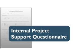 Thumbnail for Internal Project Support Questionnaire