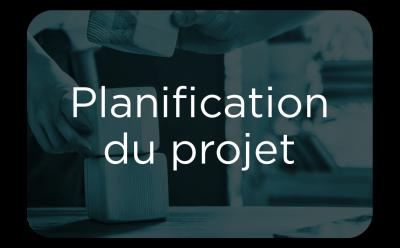 """Button - """"Planification du projet"""""""