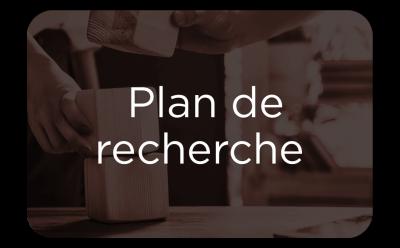 """Button - """"Plan de recherche"""""""