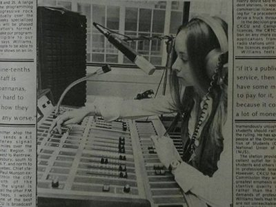 Photo for the news post: Stories from the Archives: CKCU