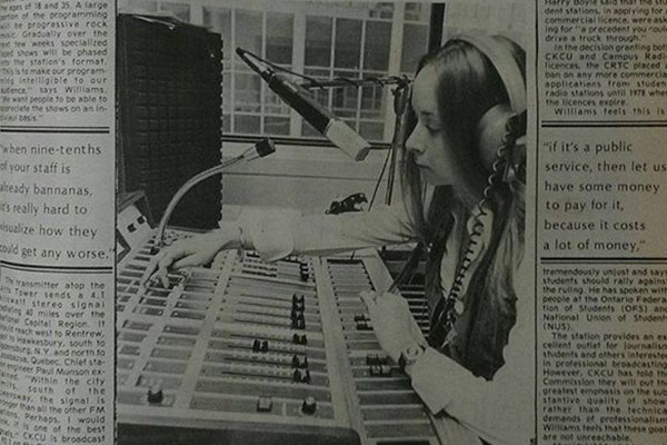 Read more: Stories from the<br>Archives: CKCU