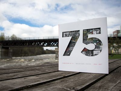Photo for the news post: Carleton at 75: Now Available for Purchase