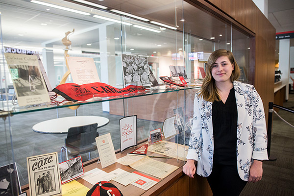 Read more: Carleton Library Exhibits Showcase 75 Years of Growth