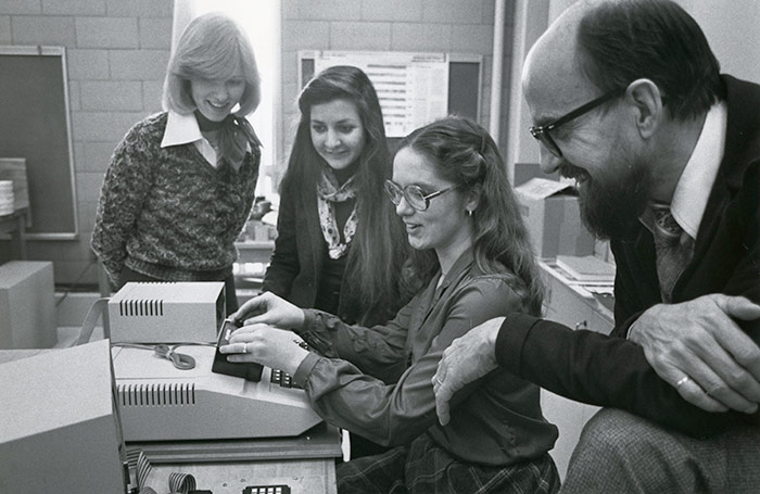 Computer Systems Engineering, 1982. Library Special Collections fonds.