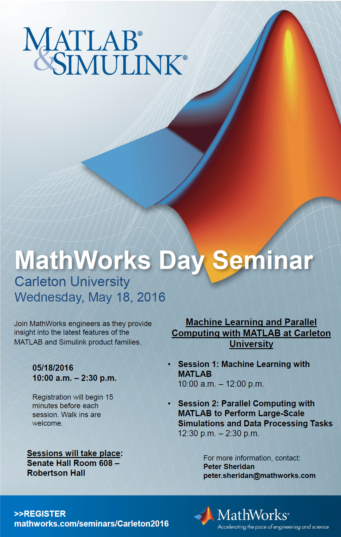MathWorks Day Seminar: Machine Learning and Parallel Computing with