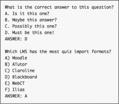 Quizzes - Support for Instructors