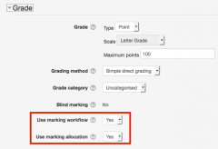 Marking workflow_markingallocation