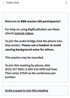The image provides the information how to join a session via the phone call.