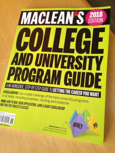Macleans Cover