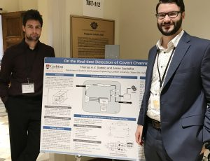 Thomas Sattolo and Dr. Jason Jaskolka at the 2019 SERENE-RISC Annual Workshop help at the University of Ottawa.
