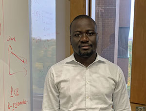 View Quicklink: CMFE welcomes visiting Ph.D. student researcher Abdoulaye Millogo