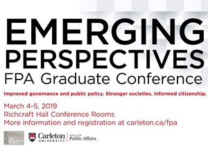 View Quicklink: Emerging Perspectives: FPA graduate conference