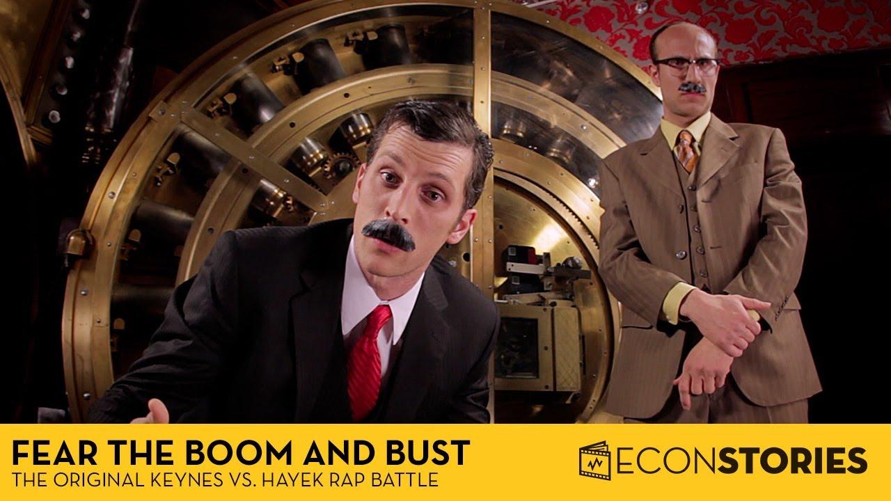 Fear the Boom and Bust: A Hayek vs. Keynes Rap Anthem