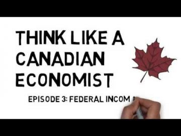 Thumbnail for: Thinking Like A Canadian Economist – Episode 3: Federal Income Tax