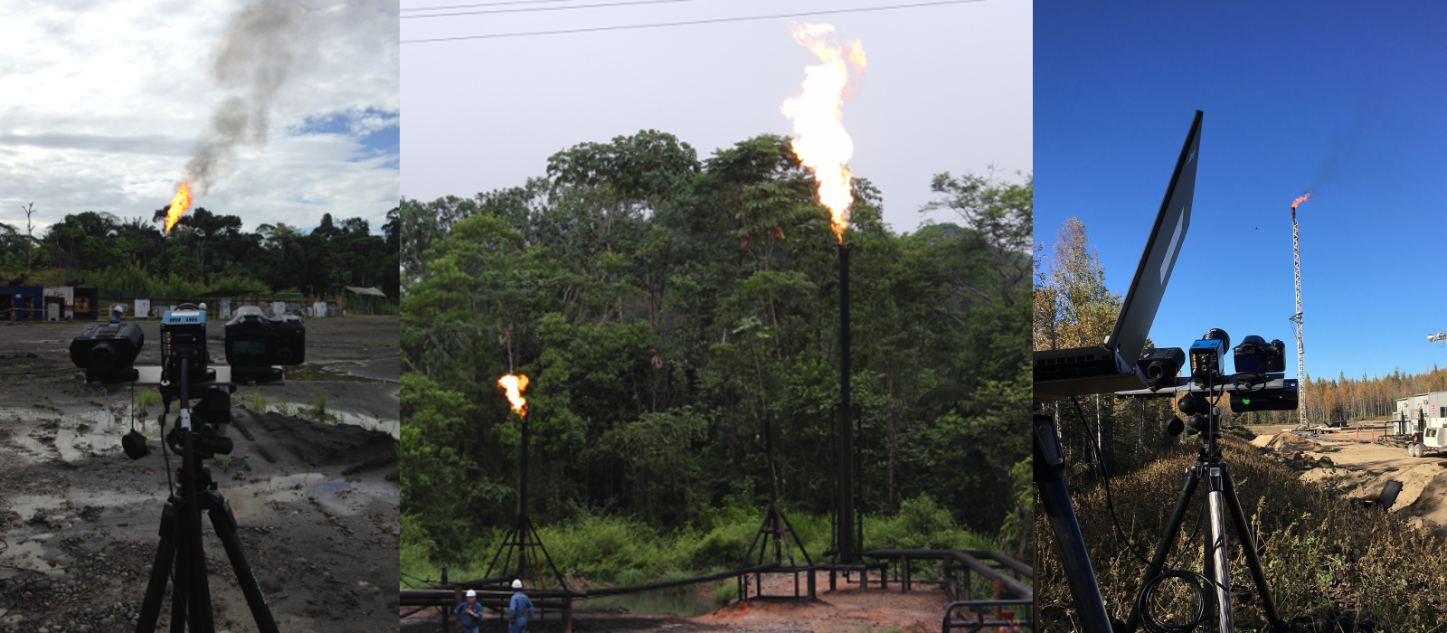 Banner image for Sky-LOSA Measurement of Black Carbon (Soot) Emissions from Gas Flaring