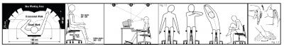 how to set up your workstation ergonomically