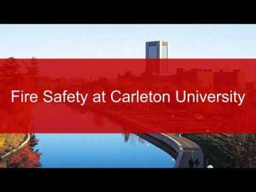 Thumbnail for: Carleton University – Fire Safety