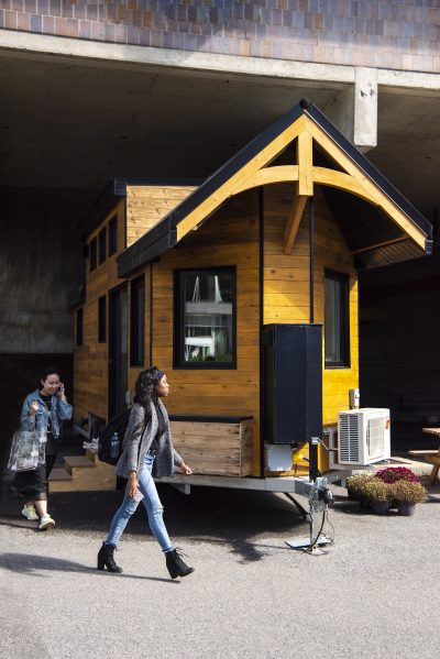 Ingenious Talks: The Northern Nomad Tiny Home - Pushing the Limits on tiny portable homes, tiny bedroom, tiny log homes, small box type house designs, tiny plans, loft small house designs, tiny room design ideas, tiny custom homes, tiny homes with staircases, tiny interior design, tiny homes inside and outside, tiny house, tiny kit homes, tiny prefab homes, mini bungalow house plans designs, tiny books, tiny compact homes, tiny fashion, tiny modular homes, tiny art,