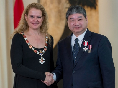 Photo for the news post: Carleton's Yiyan Wu Receives Order of Canada for Digital TV and Multimedia Communications Research