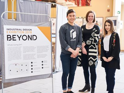 Photo for the news post: Industrial Design Students Go 'Beyond' at 40th Annual Graduation Exhibition