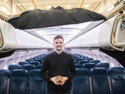 Photo for the news post: Unique Design Elevating Air Travel Inclusivity for Seniors