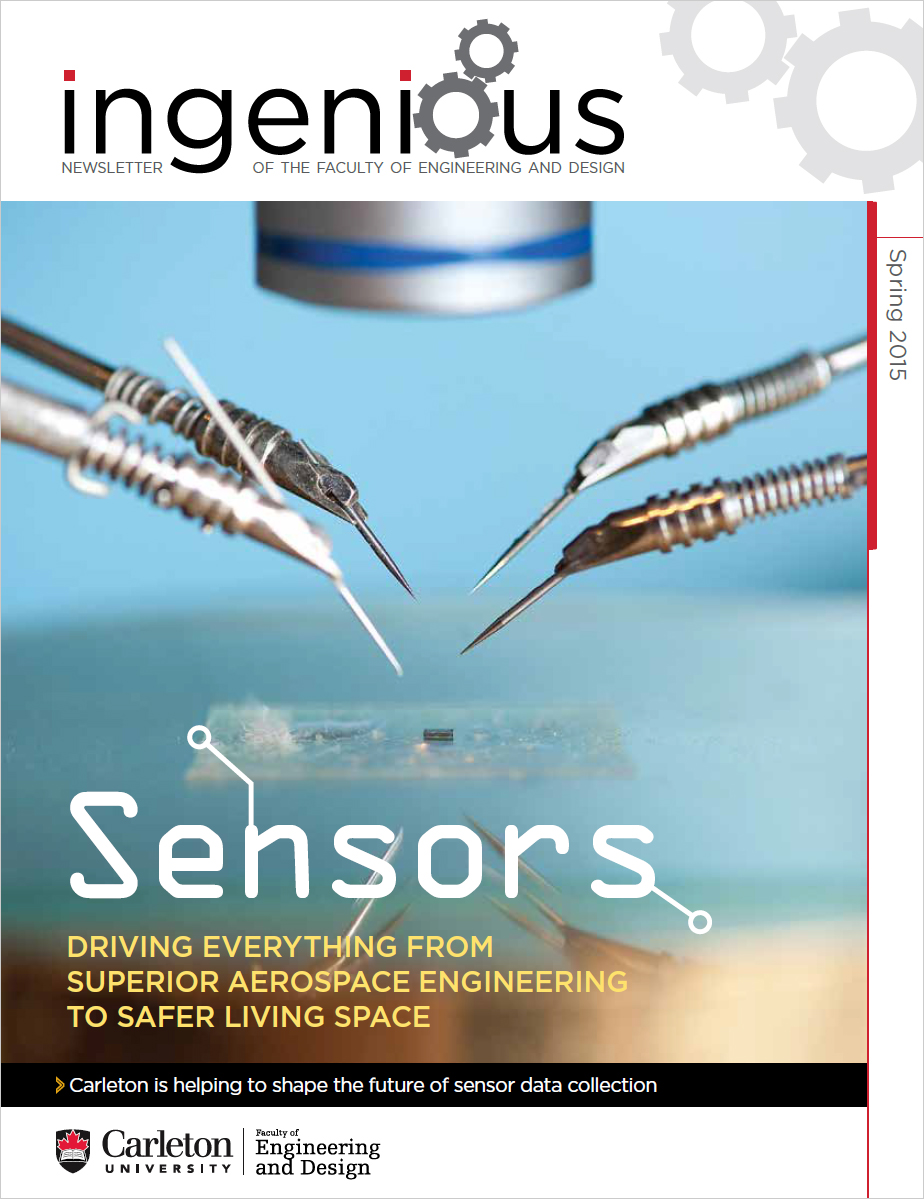 Ingenious Spring 2015 Cover