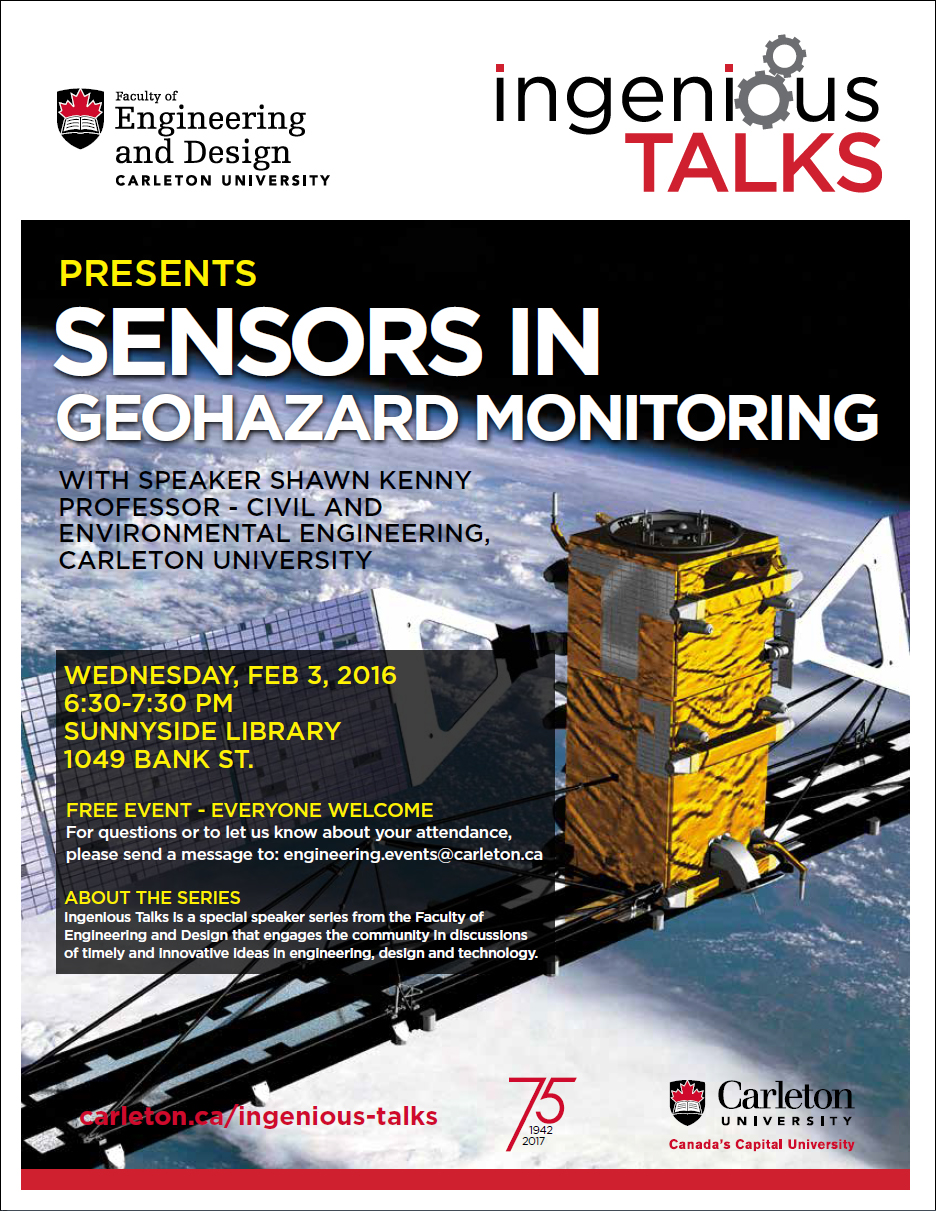 Ingenious Talks - Sensors in Geohazard Monitoring Full Poster - February 3