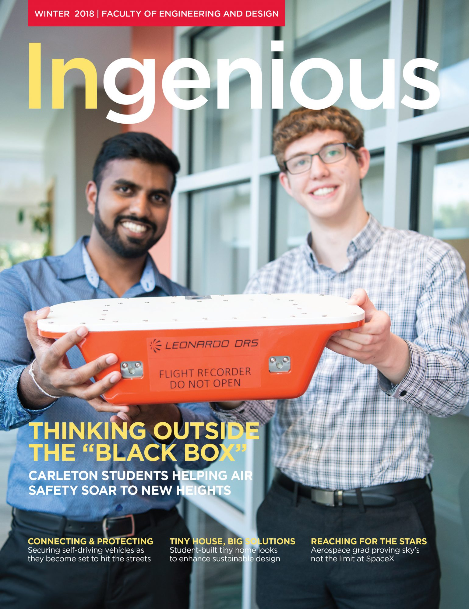 Ingenious Winter 2018 Cover