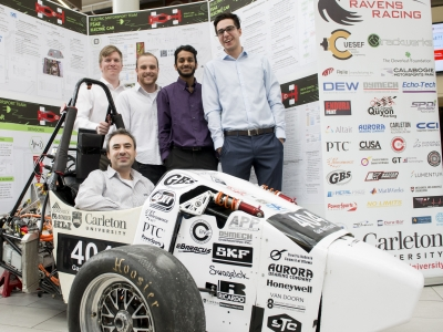 Photo for the news post: GBatteries and Carleton University Partner to Renew Ravens Racing Formula SAE Electric Program