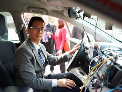 Photo for the news post: Carleton's Highly Cited Researchers: Richard Yu Leads the Charge in Autonomous Systems and AI Security