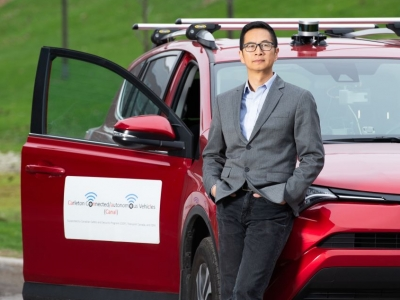 Photo for the news post: Prof. Richard Yu Receives $1.65M in NSERC Funding to Train Students In Connected and Autonomous Vehicle Technology
