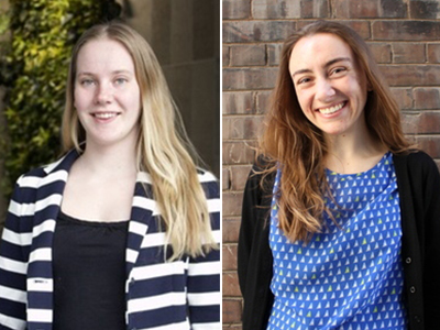 Photo for the news post: Two Engineering Undergrads Win Provost Scholar Awards