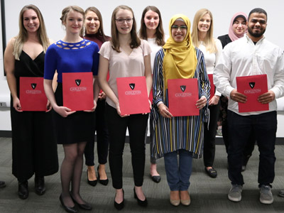 Photo for the news post: Carleton Announces Provost Scholar Award Recipients