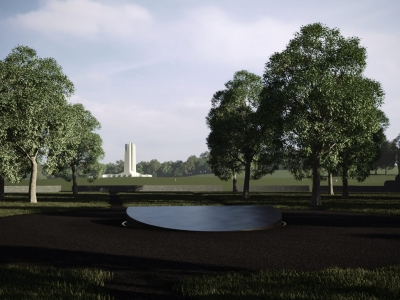 Photo for the news post: Carleton Architecture Students Win Vimy Ridge Design Competition