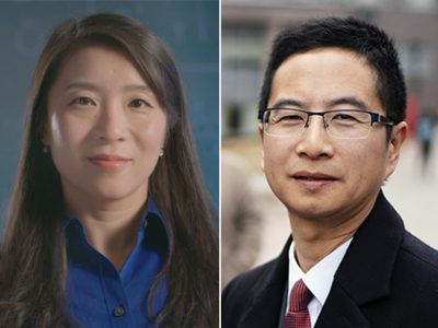 Photo for the news post: Carleton's Winnie Ye and Richard Yu Awarded Engineering Institute of Canada Fellowships