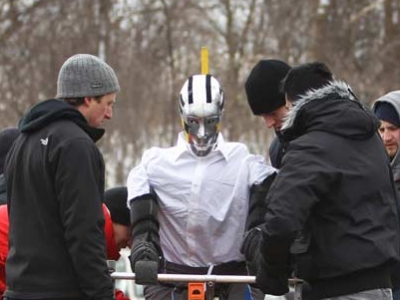Photo for the news post: Carleton University Crash Dummy Team to Hold Vehicle-Cyclist Collision Test