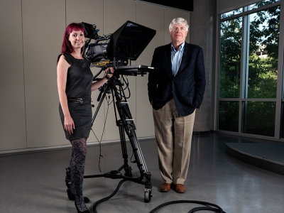 Photo for the news post: New Degree Focuses on Digital Media Storytelling