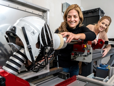 Photo for the news post: The Future of Helmet Testing and Design