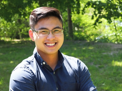 Photo for the news post: Teaching Machines to Learn: Carleton Grad Receives AI Scholarship to Advance Biomedical and Healthcare Fields
