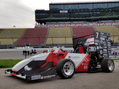 Photo for the news post: Ravens Racing Speeds into Second Straight Top 10 Finish at Formula SAE Michigan